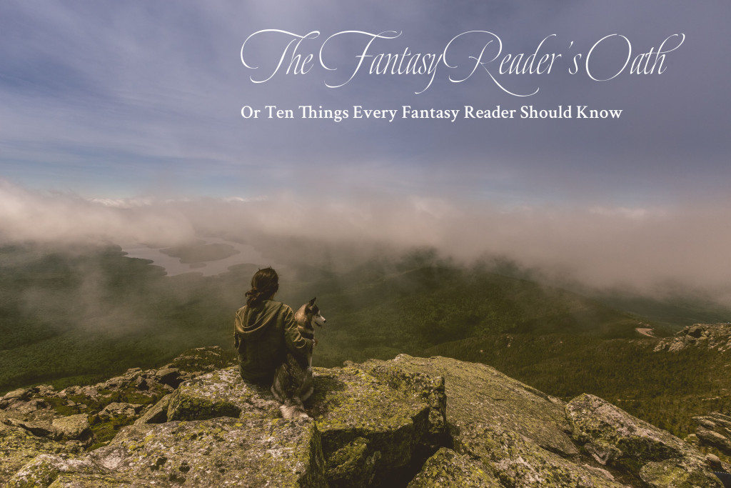 YA fantasy, adventure, reader's oath