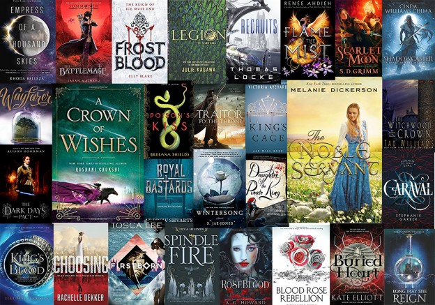 39 Most Anticipated Fantasy Books 2017